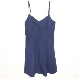 Market & Spruce Blue Sun Dress